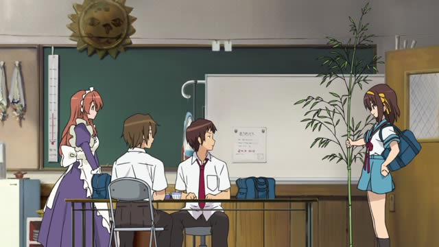 The Melancholy of Haruhi Suzumiya Episode 8