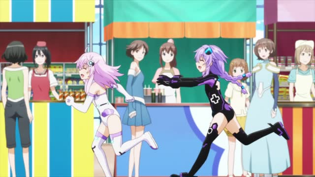 Hyperdimension Neptunia Episode 11