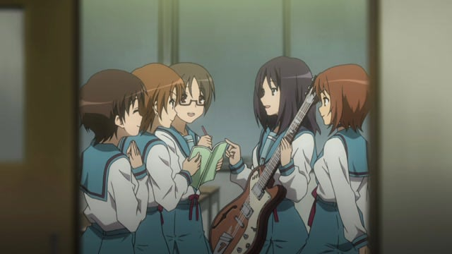 The Melancholy of Haruhi Suzumiya Episode 24