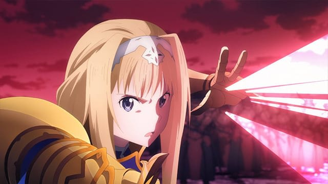 Sword Art Online -Алисизация- / SWORD ART ONLINE -Alicization- Серия 12