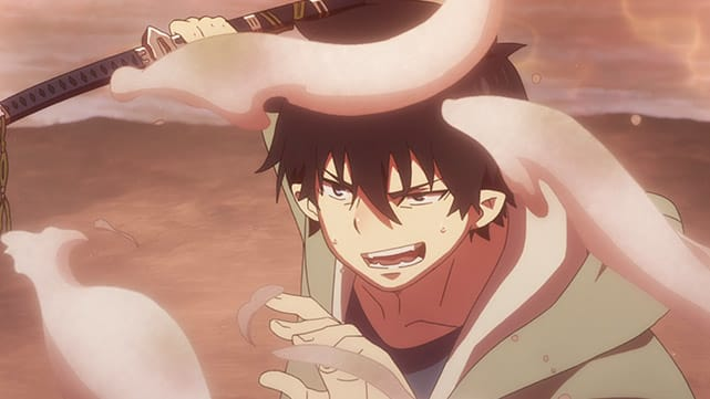 Blue Exorcist: Kyoto Saga Episode 09
