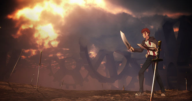 Fate/stay night: Unlimited Blade Works Episode 21