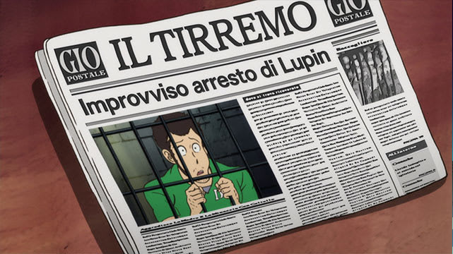 Lupin the Third (2015) L'aventure italienne Episode 13