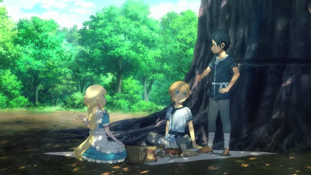 SWORD ART ONLINE -Alicization- Episode 1