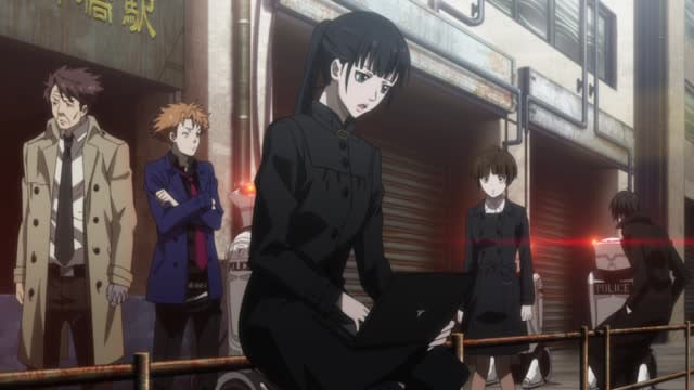 Psycho-Pass Episode 10